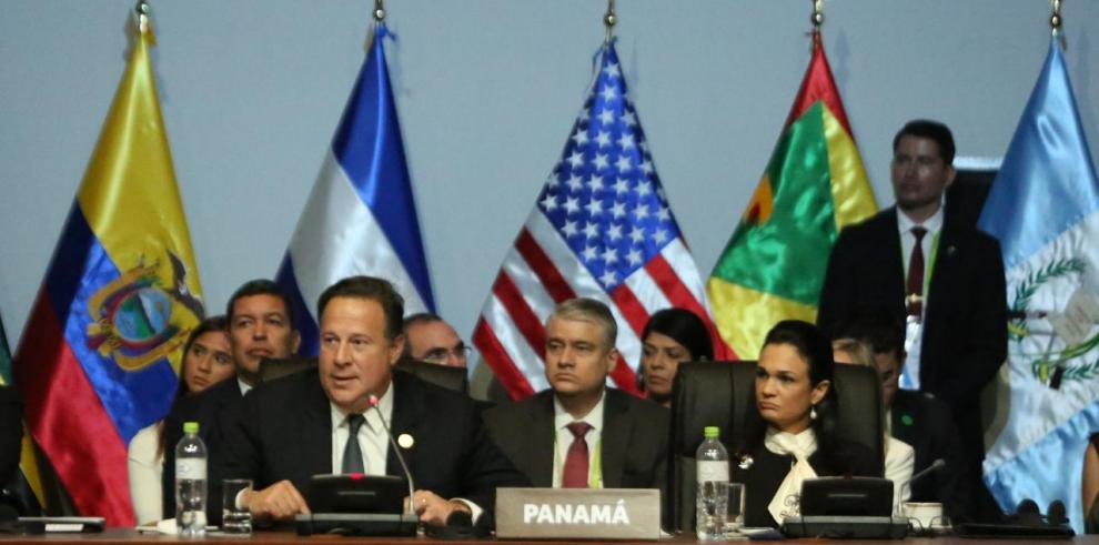 'Países de América deben estar unidos para luchar contra la corrupción' Varela