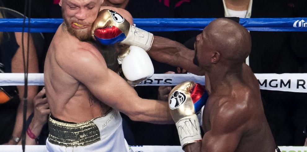 Mayweather busca generar interés con pleito en la UFC