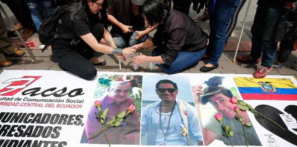 Consternación en Ecuador por asesinato de periodistas