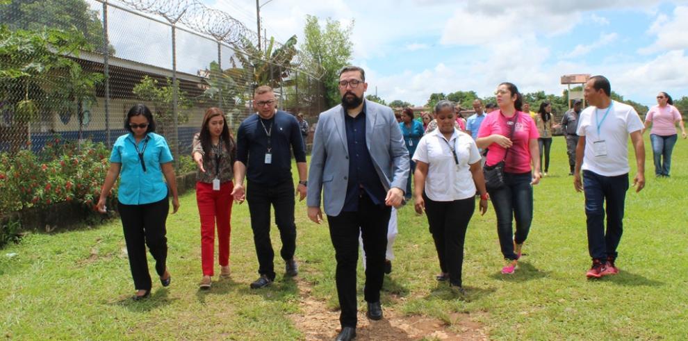 Jueces de Cumplimiento de Latinoamérica realizaron recorrido en La Joyita y La Nueva Joya
