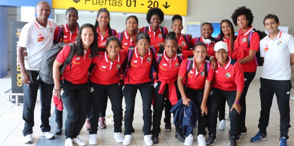 Selección femenina viaja a Argentina para repechaje