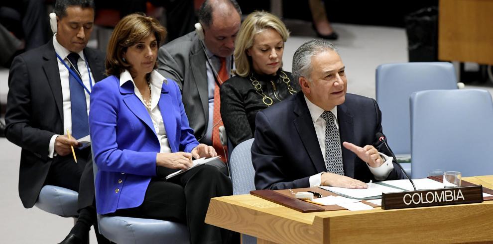 Colombia promete en la ONU que la paz triunfará a pesar de las dificultades