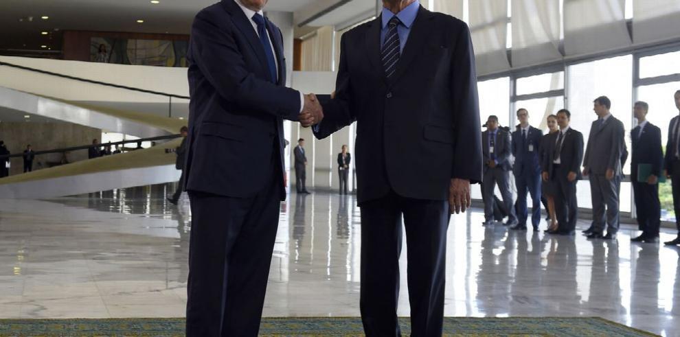 Santos y Temer se enfilan contra Nicolás Maduro