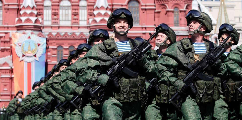 Rusia celebra el 73 aniversario de la derrota sobre la Alemania Nazi