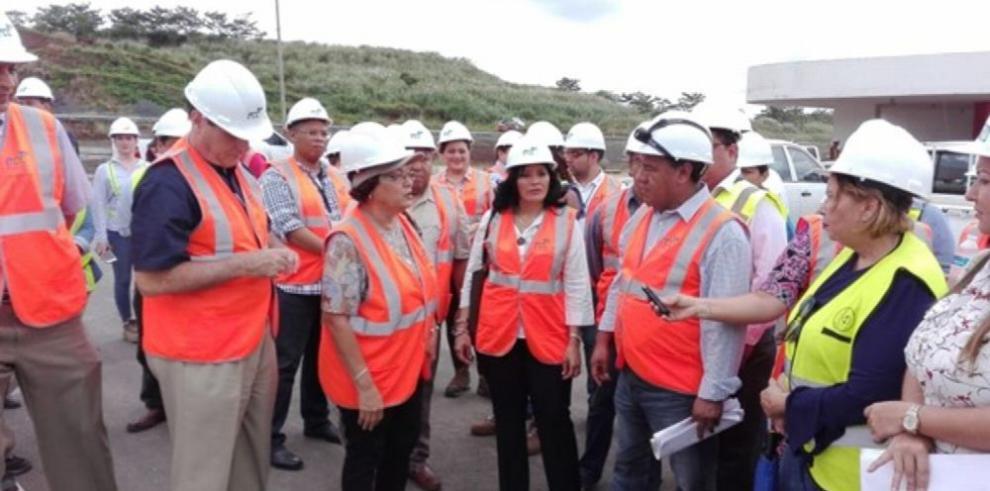 Construcción de Ciudad de la Salud presenta un 61% de avance
