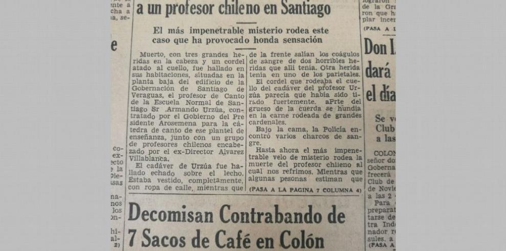 Crimen en la Escuela Normal de Santiago