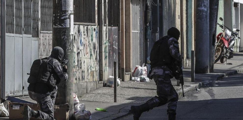 Aumentan muertes en operaciones policiales en Río