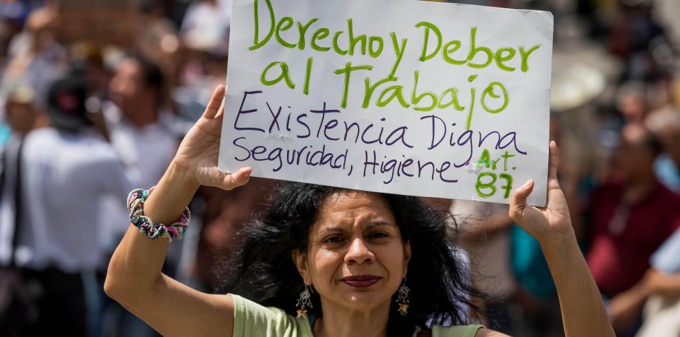Se intensifican las protestas gremiales por crisis en Venezuela