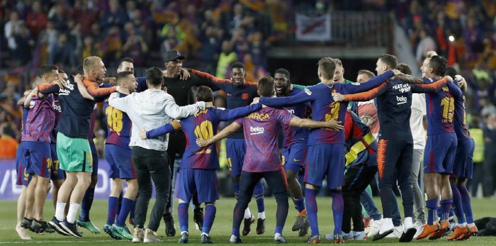 Barcelona no tuvo pasillo, empató; pero es el campeón