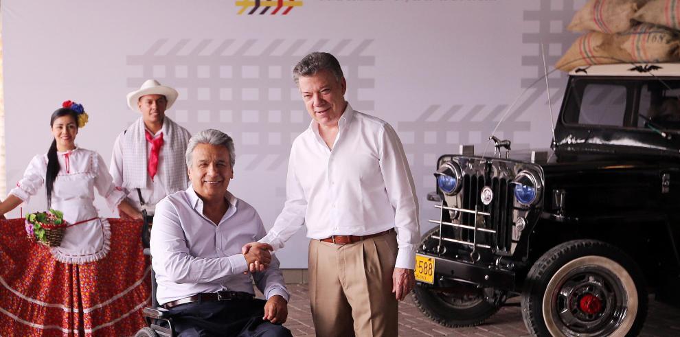 Moreno apela a hermandad con Colombia para favorecer integración y desarrollo