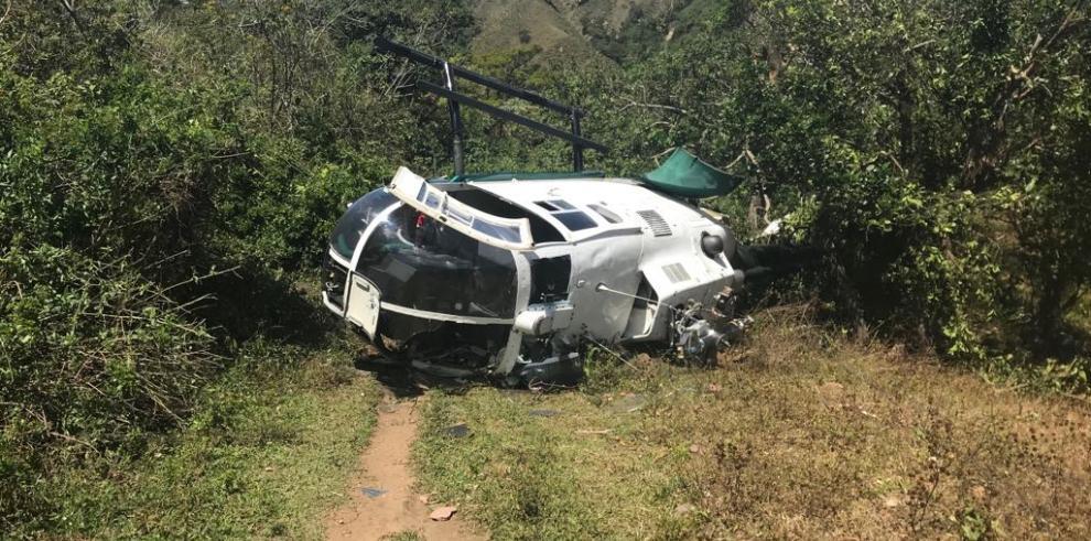 Cinco heridos deja accidente aéreo en Chiriquí