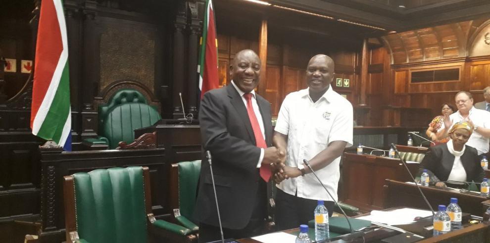 Cyril Ramaphosa, elegido nuevo presidente de Sudáfrica