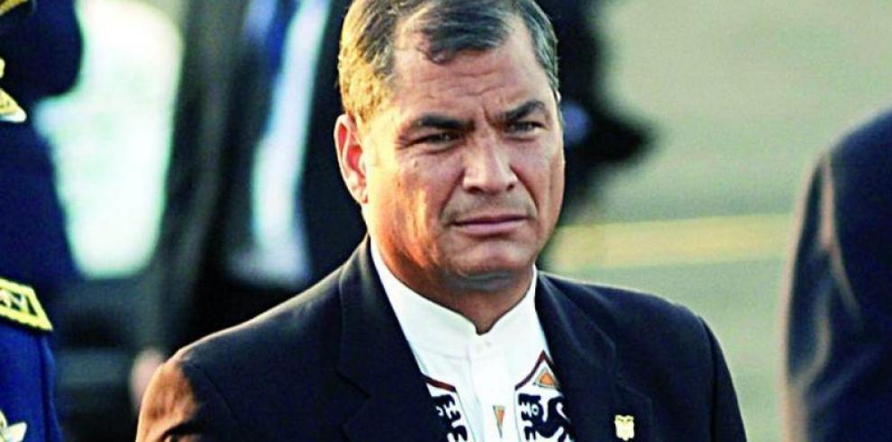 Rafael Correa dice que Lenín Moreno es