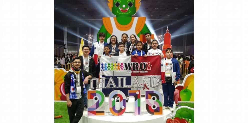 Panamá concluye cita en Olimpiada Mundial de Robótica