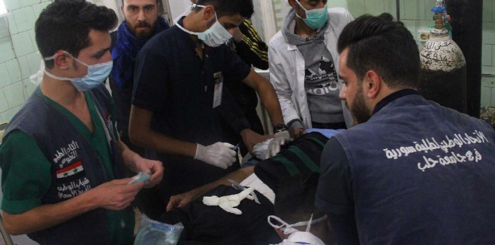 Gobierno sirio denuncia nuevo ataque químico