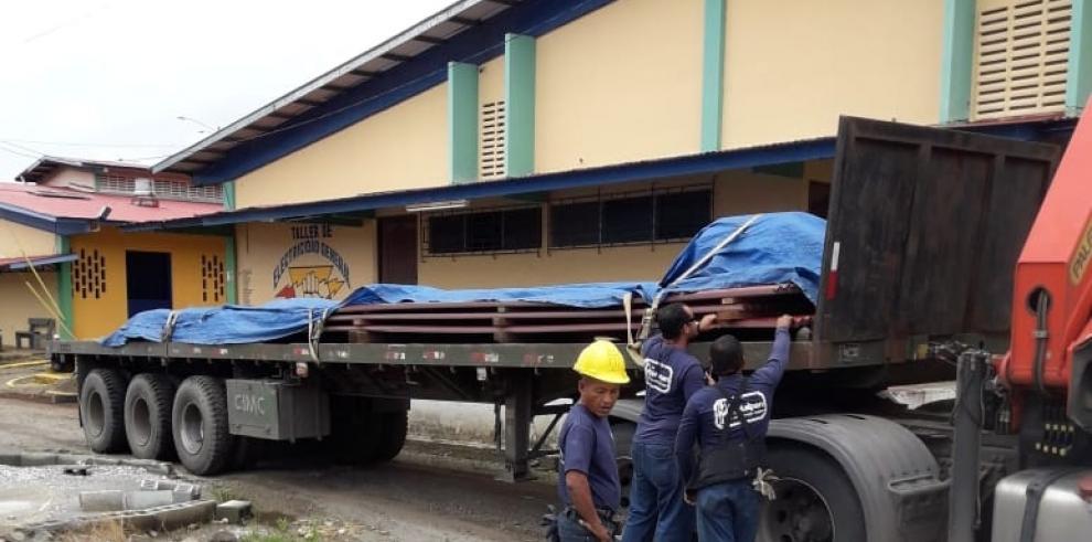 Más de $417 mil dólares en obras se invierten en el Inadeh de Colón