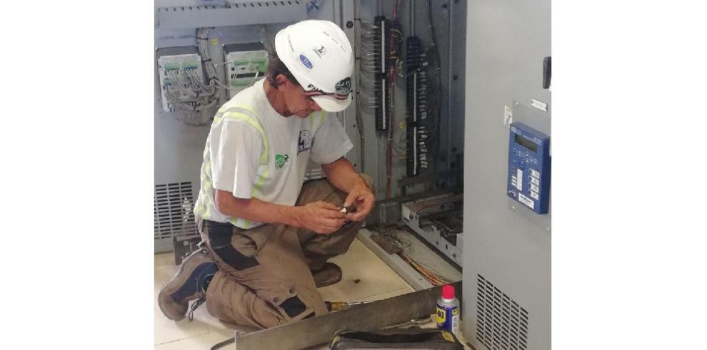 Los trabajos de mantenimiento en la potabilizadora de Chilibre avanzan