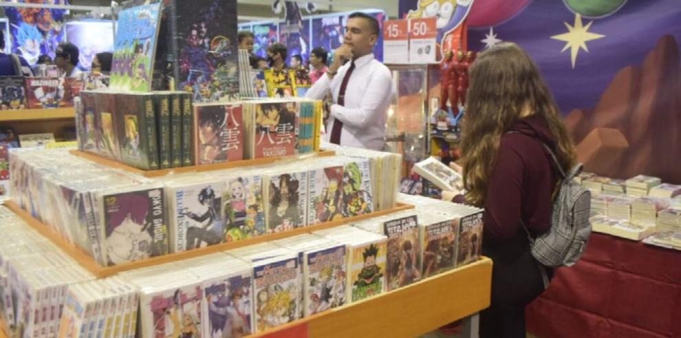 Un espacio para una exposición de cómics