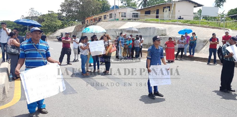 Indígenas exigen la construcción de una carretera en la comarca Ngäbe Buglé