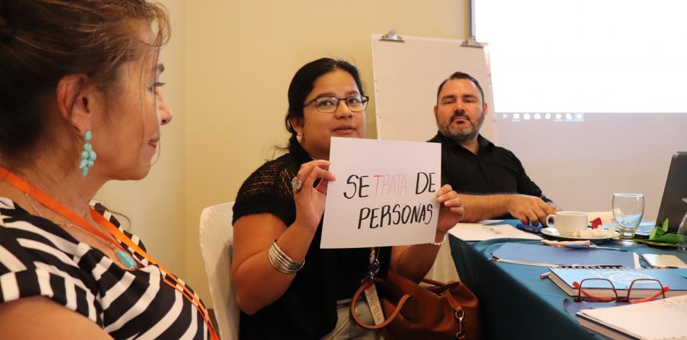 OIM y ONGS fortalecen la respuesta de los sistemas de justicia a la trata de personas