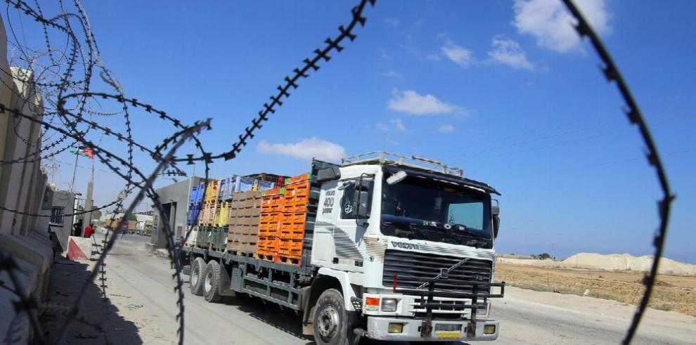 Piden a Israel reabrir paso comercial con Gaza
