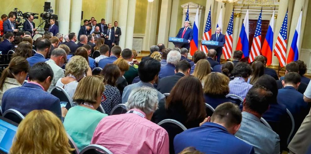 Putin y Trump dan por concluida 'guerra fría' entre Rusia y EE.UU.