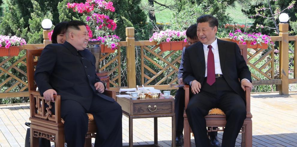 Xi Jinping y Kim Jong Un se reúnen en la ciudad de Dalian