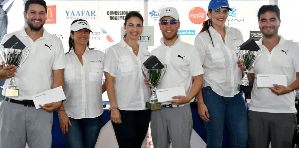 Más de 100 golfistas participan en torneo benéfico McDonald