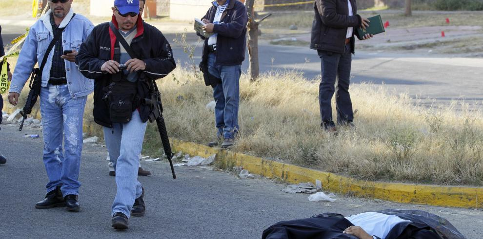 El 75% de asesinatos en México están vinculados al narcotráfico, según ONG