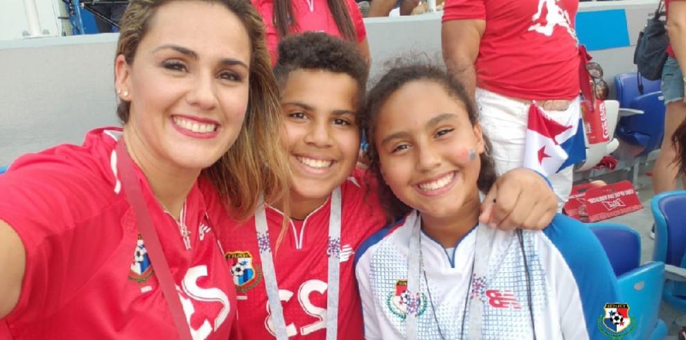 Así celebraron los panameños el gol de Baloy en la Copa Mundial