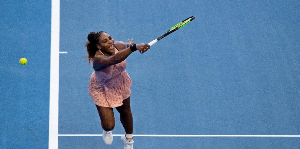 Serena Williams consigue el único punto de Estados Unidos ante Grecia