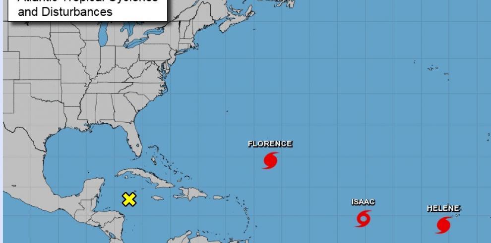 Huracanes Florence y Helene, y tormenta Isaac, avanzan por el Atlántico