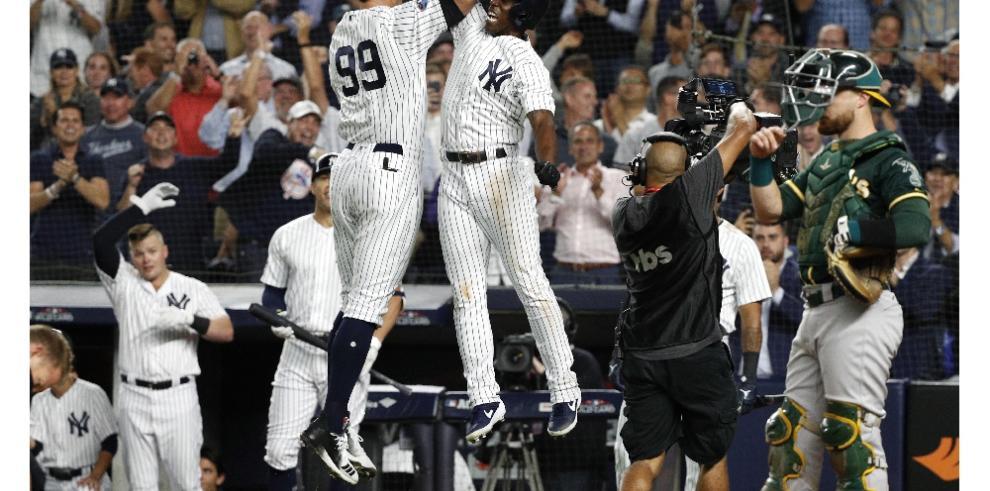Yankees vs Boston en los playoffs de la Liga Americana