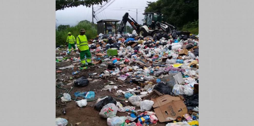 Anuncian plan de recolección de desechos en Panamá Norte