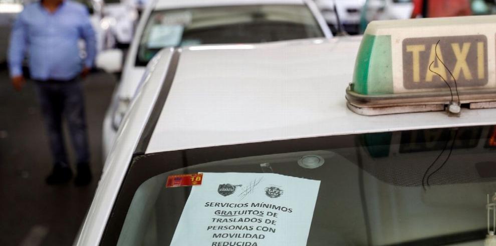 España: protesta contra Uber y Cabify se extiende