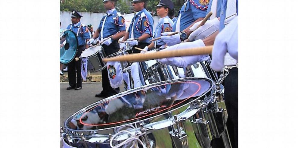 Banda de música de los bomberos de Chepo tocará en Costa Rica