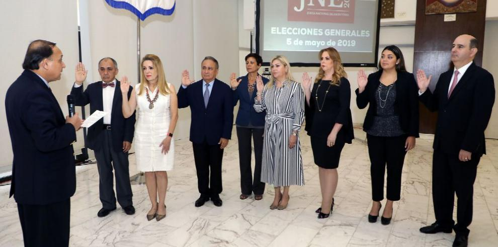El TE juramenta a la Junta Nacional de Escrutinio de 2019