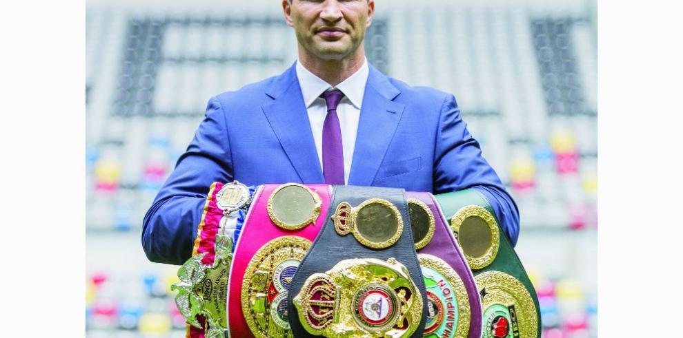 Klitschko busca que la AMB regule el boxeo