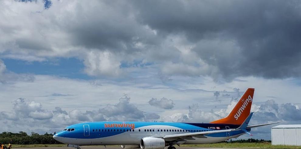 Incrementan vuelos de aerolíneas canadiense en el Aeropuerto de Río Hato