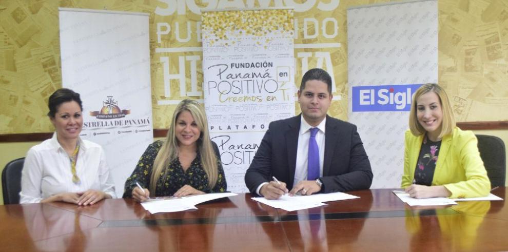 GESE y Panamá en Positivo firman acuerdo