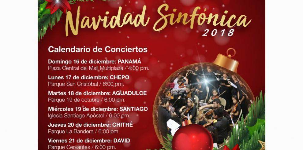 Gira: 'Navidad Sinfónica 2018'