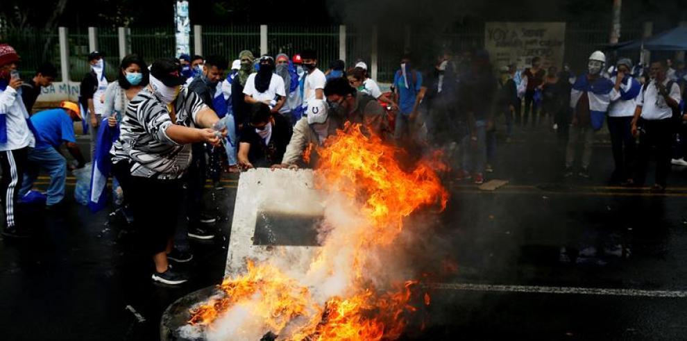 La CIDH eleva a 317 los muertos en las protestas en Nicaragua