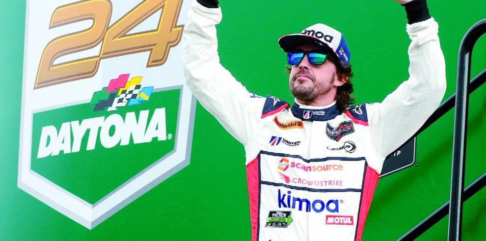 Alonso: 'Estoy encantado, ha sido un debut genial'