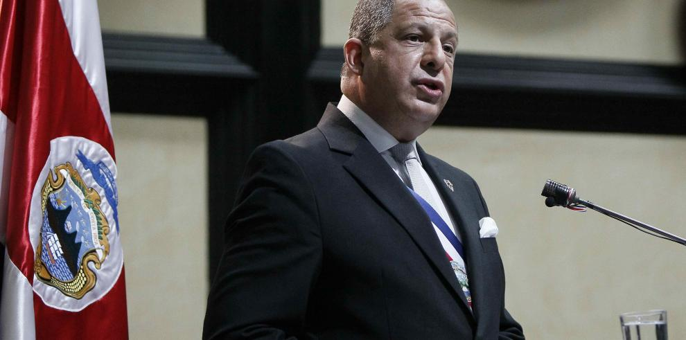 Presidente de Costa Rica llega mañana a Panamá paraasistir a la feria Expocomer