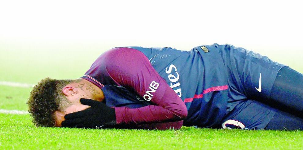 La lesión de Neymar pone a todos en vilo