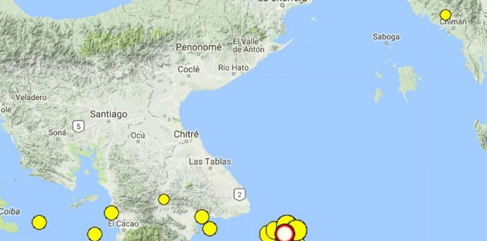 Sismo de 5.6 grados vuelve a sacudir la ciudad de Panamá y provincias centrales