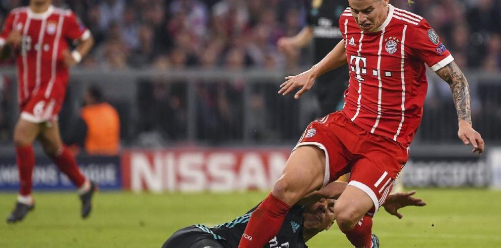 James Rodríguez, sin definir su futuro en el fútbol