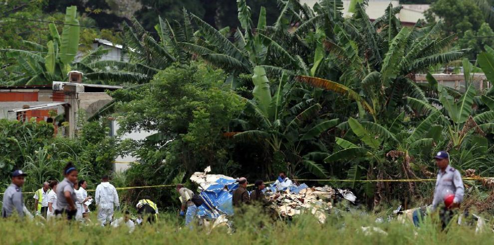Avión de pasajeros se estrella en Cuba