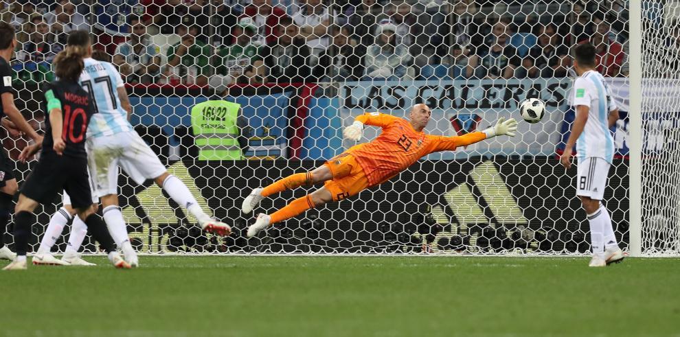 Croacia humilla a Argentina con una goleada de 3-0