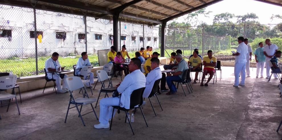 Realizan censo de salud preventiva en cárcel de Bocas del Toro